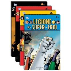 Legione dei Super-Eroi N. 01 + 02 + 03 + 04