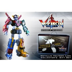 Voltron 25th Ann. Gift Set Metallic Figure